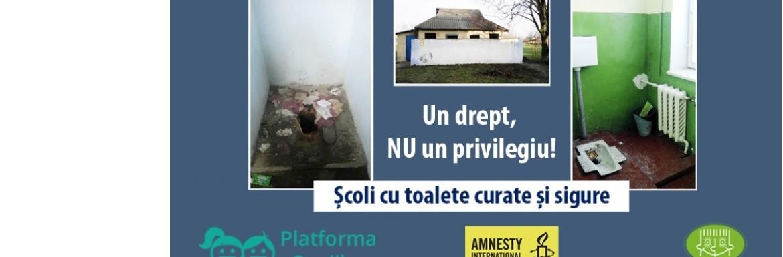 Școli cu toalete curate și sigure. Un drept, nu un privilegiu